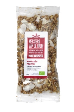 Portion Pack – Krokante muesli kokos/hazelnoot