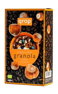 Qrop Granola – Coffee / Hazelnut